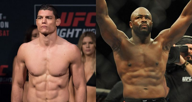 Alan Jouban (Left) and Rashad Evans (Right)