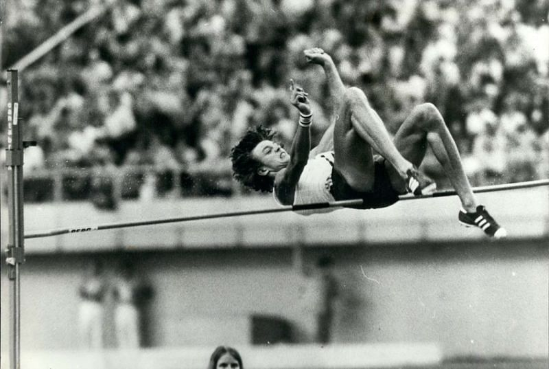 Jacek Wszola at the 1976 Montreal Olympics
