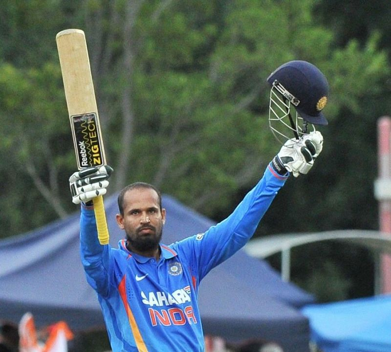 Yusuf scored a brilliant 105 against a strong South African bowling attack in Centurion