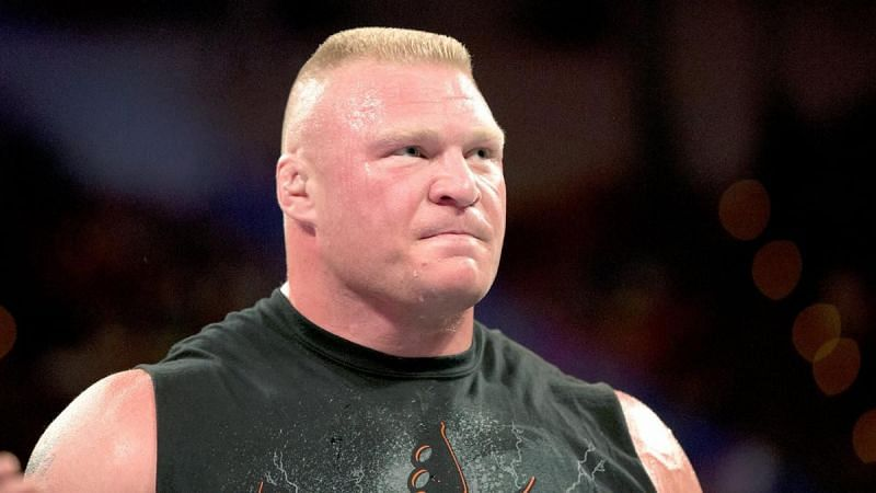 Brock Lesnar has not appeared on WWE television in 10 months