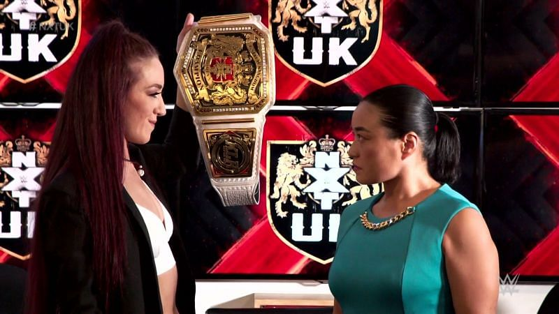 A huge NXT UK championship match was announced