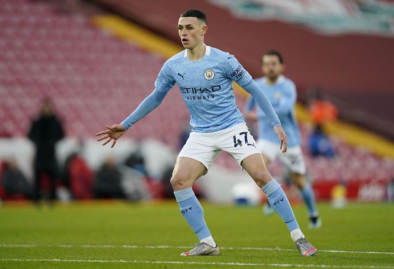 Phil Foden has been in fine form for Manchester City this season.