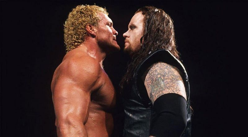 Sycho Sid and The Undertaker