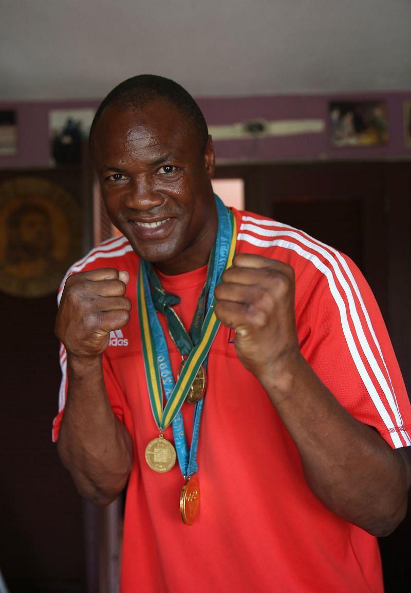 Cuban Boxing Great Felix Savon at Home