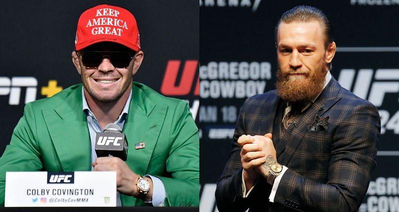 Colby Covington despises the idea of Conor McGregor getting his own UFC belt