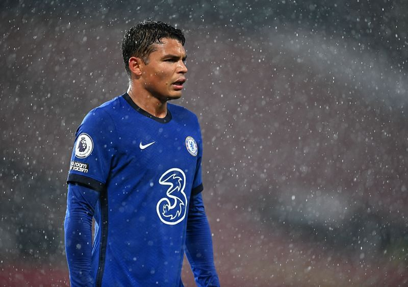 Thiago Silva has been a rock at the back for Chelsea