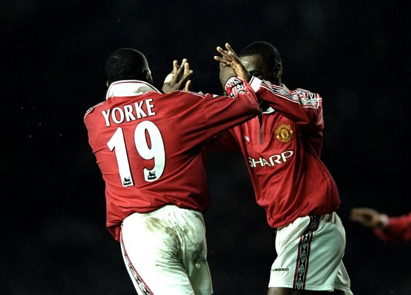 Andy Cole and Dwight Yorke created history with Manchester United