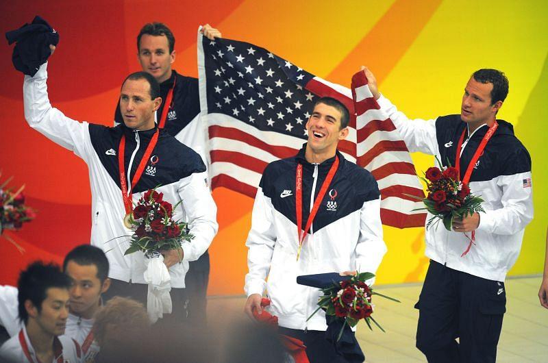 Beijing Olympics: US Swimming Team
