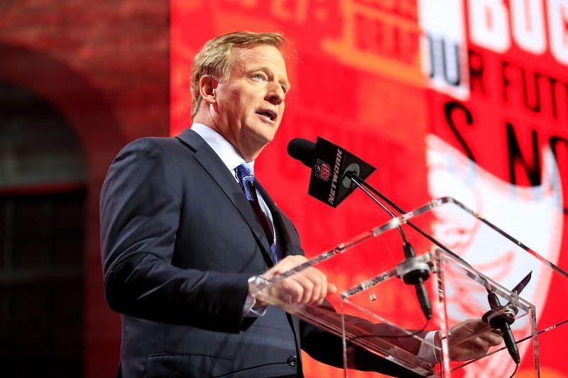 NFL Commissioner Roger Goodell, at the 2019 NFL Draft