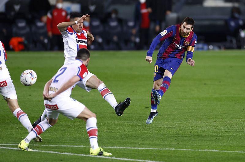 Barcelona thrashed Alaves at Camp Nou