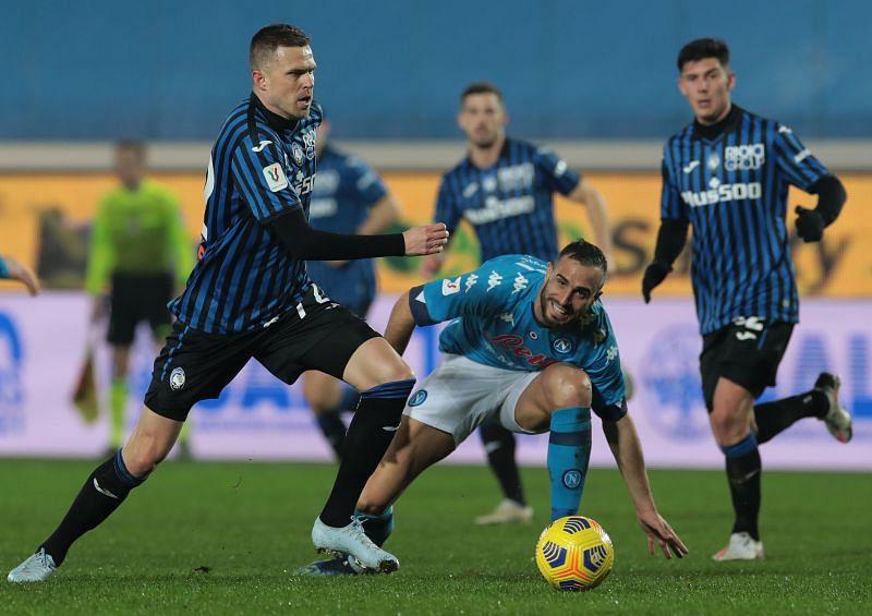 Atalanta take on Napoli this weekend