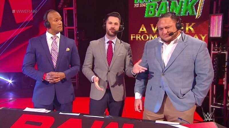 Samoa Joe reflects upon being the voice of WWE RAW.