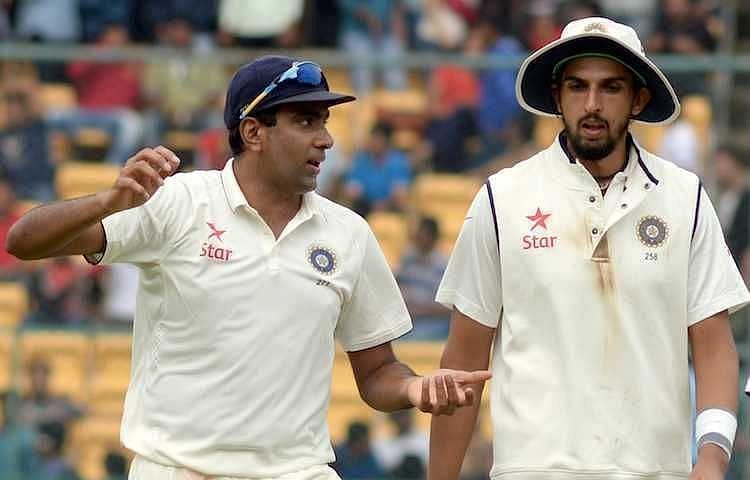 Ravichandran Ashwin and Ishant Sharma