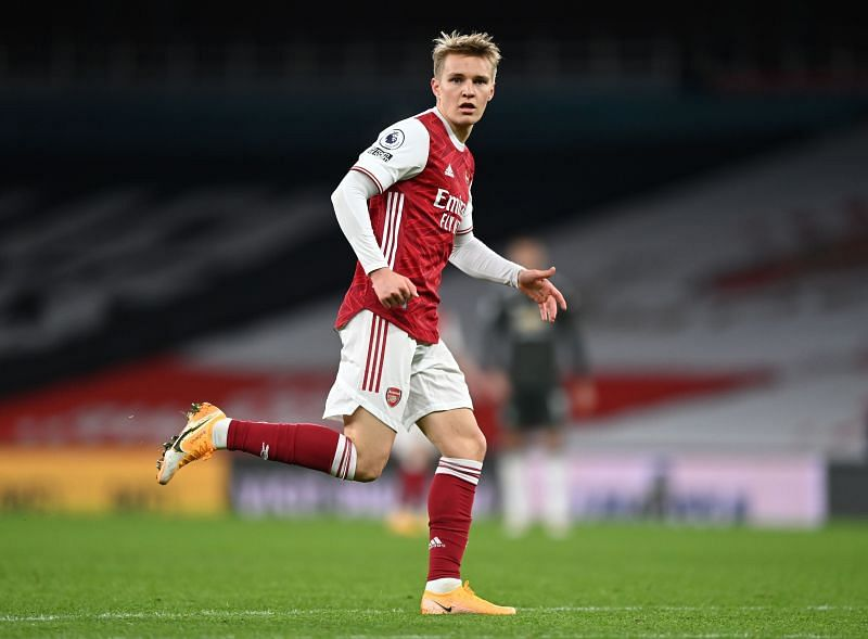 Martin Odegaard has joined Arsenal on loan from Real Madrid