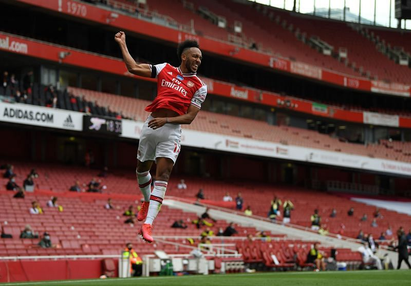 Pierre-Emerick Aubameyang was back to his best for Arsenal against Leeds United.