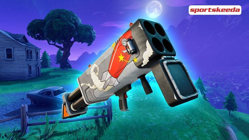 New Burst Quad Launcher exotic weapon in Fortnite