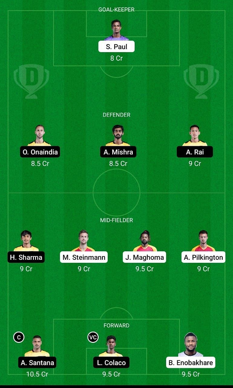 Dream11 Fantasy Suggestions for the ISL encounter between SC East Bengal and Hyderabad FC
