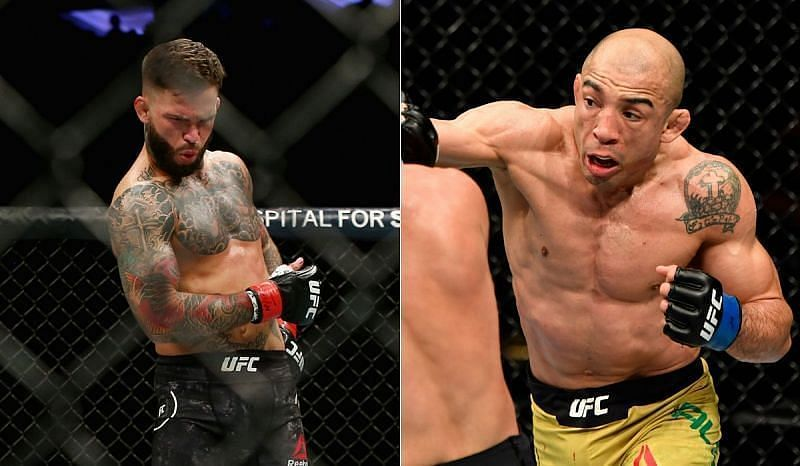 Cody Garbrandt and Jose Aldo are willing to fight each other next