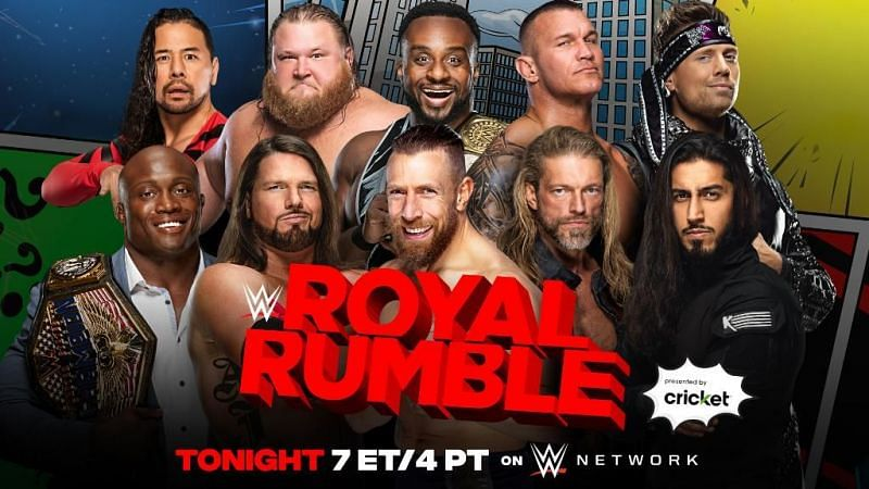 According to reports, lots of WWE Superstars were backstage at the Royal Rumble