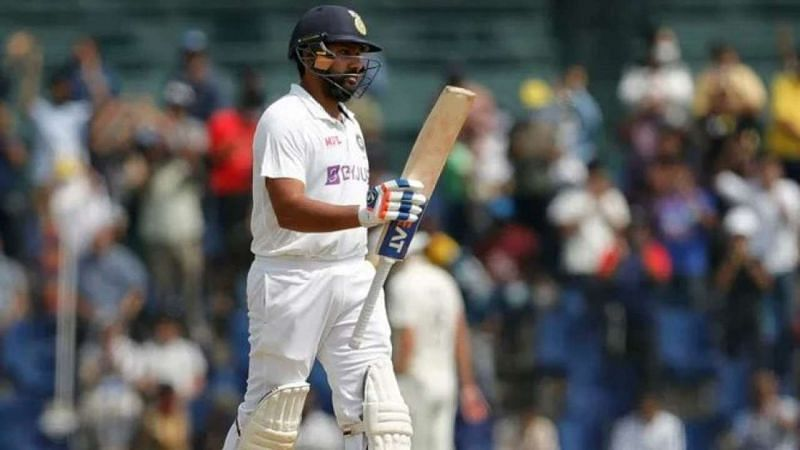 Rohit Sharma continued the good form he showed in the second Test in Chennai.