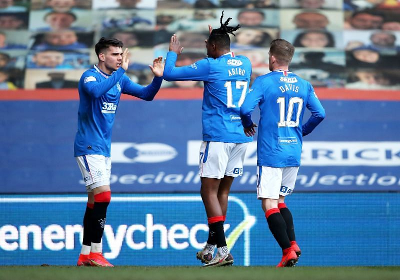 Rangers host Royal Antwerp in their UEFA Europa League round of 32 fixture