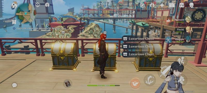 The 3 Luxurious chests are now openable after completing the Illumiscreen quest.