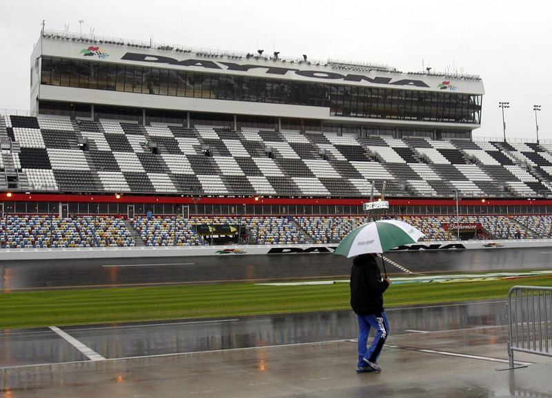 NASCAR could be in for a very rainy weekend at Daytona International Speedway.