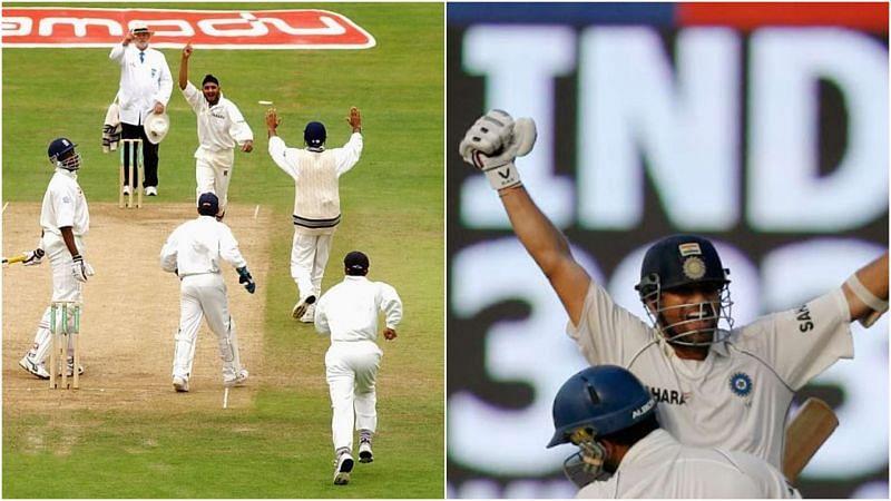 भारतीय टीम जीत के बाद जश्न मनाते हुए