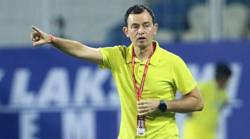 Kibu Vicuna has been relieved of his duties at Kerala Blasters FC. (Image: ISL)