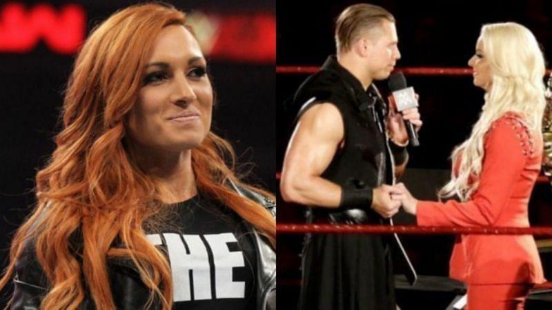 पूर्व Raw विमेंस चैंपियन बैकी लिंच और मिज & मरिस WWE टीवी पर प्रेग्नेंसी की घोषणा कर चुके हैं