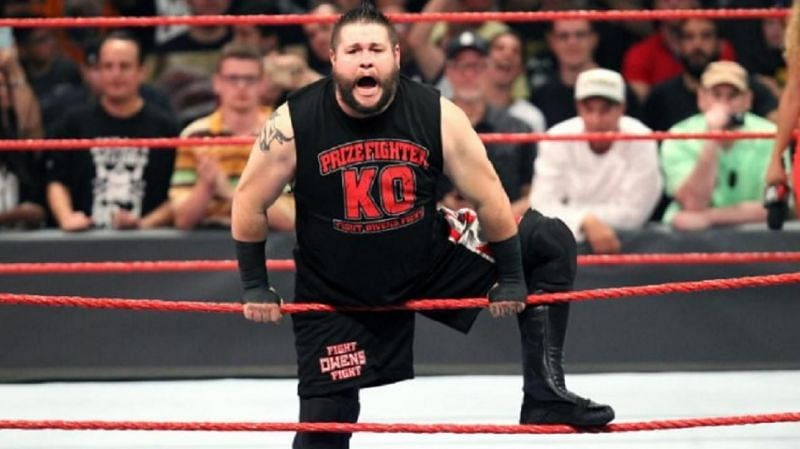 Kevin Owens enjoys reminding people that he belongs in the main event picture in WWE.