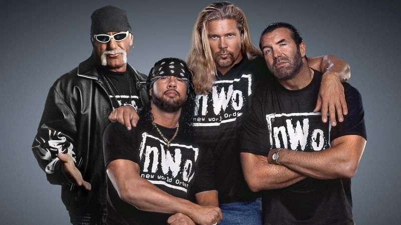 Hulk Hogan, Sean Waltman, Kevin Nash, and Scott Hall