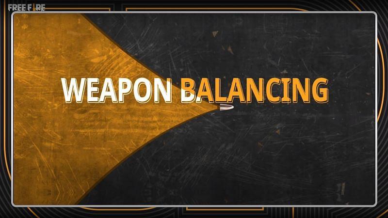 Weapon Balancing (Image via Free Fire)
