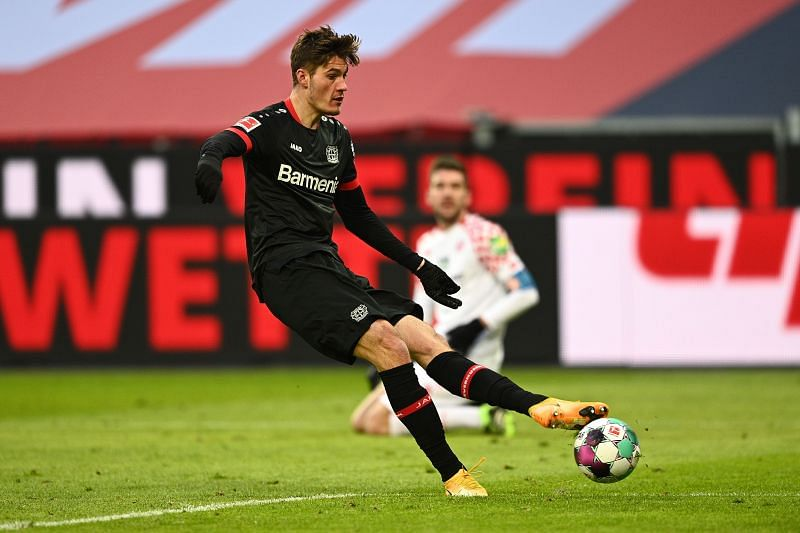 Bayer 04 Leverkusen are in Bundesliga action against Augsburg this weekend