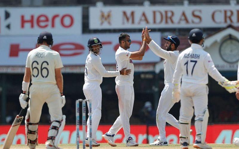 Team India defeated England by 317 runs in Chennai
