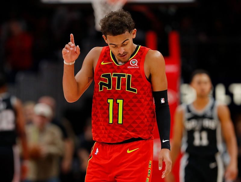 Trae Young of the Atlanta Hawks will hope for better results against the San Antonio Spurs on Friday.