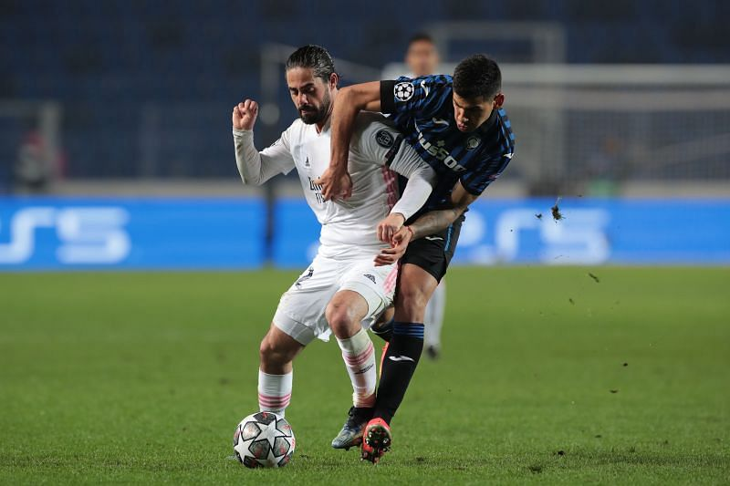 Real Madrid defeated Atalanta in the UEFA Champions League on Wednesday night