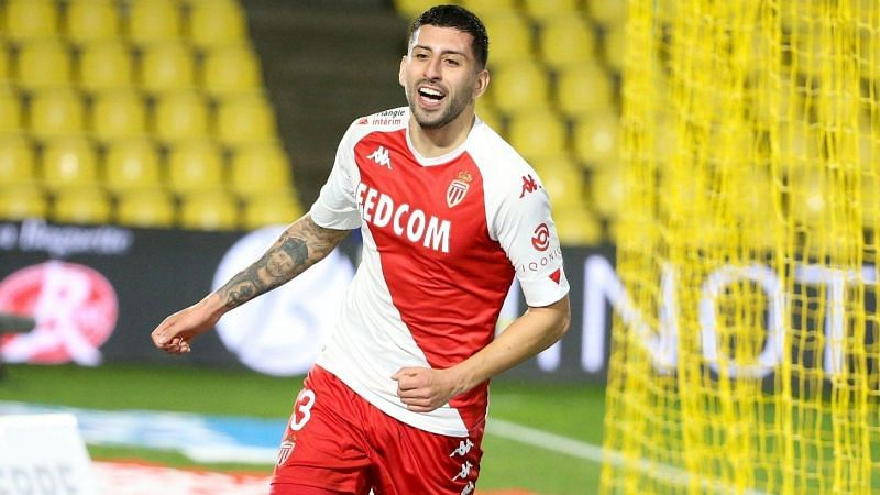 Guillermo Maripan scored his fifth goal for Monaco in 2021 - and he