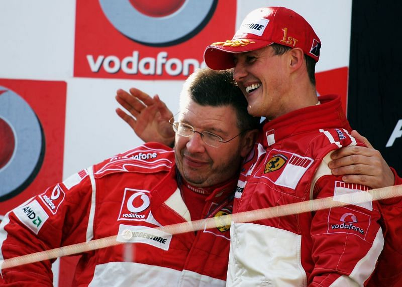 Michael Schumacher was part of Ferrari