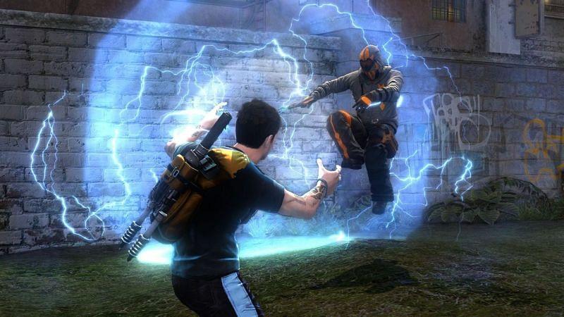 Infamous 2 (Image via GameSpot)