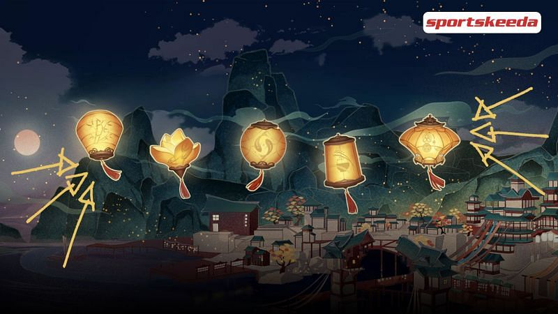 "Collect lanterns on the Day-2 of the ""Wish upon a lantern"" event in Genshin Impact"