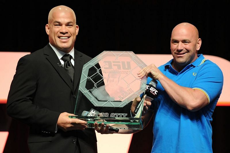 Dana White and Tito Ortiz had a feud that lasted for years.