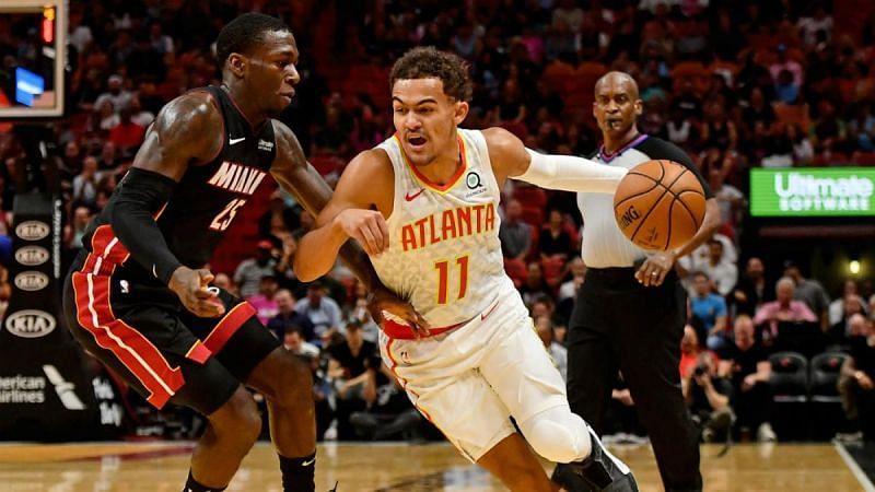 Atlanta Hawks face the Miami Heat on Sunday.