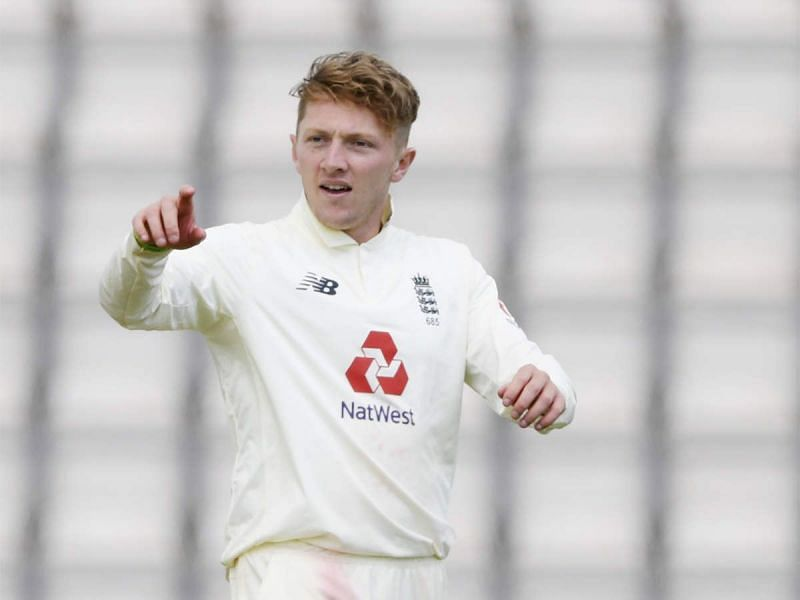 This will be Dominic Bess' first outing against India.