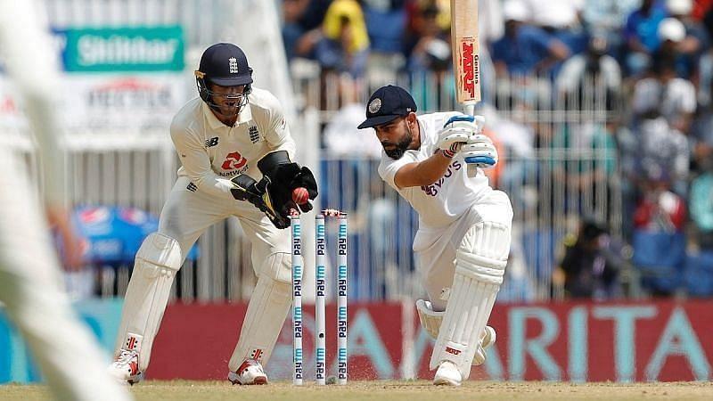 Virat Kohli clean bowled by Moeen Ali. Pic: Twitter