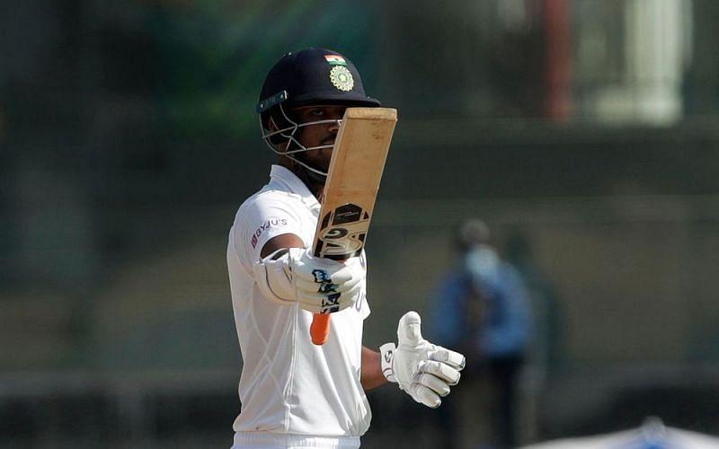 Washington Sundar scored his second half-century in Test cricket