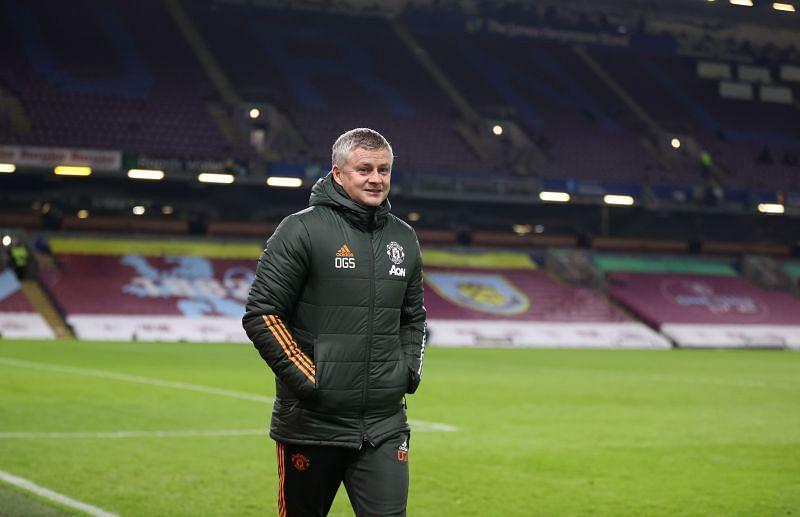 Manchester United coach Ole Gunnar Solskjaer