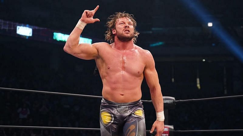 Which WWE Superstar does Kenny Omega want to create in the AEW console game?