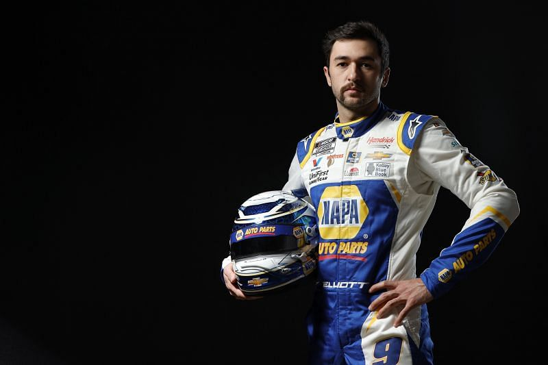Chase Elliott looks for his fifth road course win on hios last six tries. (Photo by Jared C. Tilton/Getty Images)
