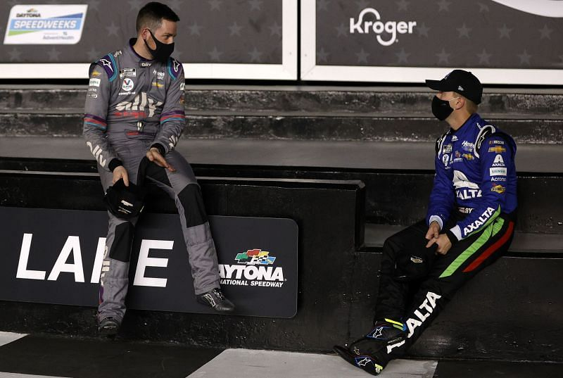 Alex Bowman and William Byron top the Daytona Duel starting lineups.
